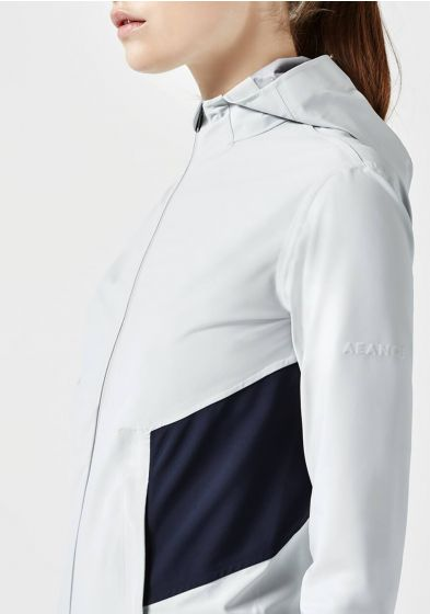 High impact jacket in grey for women